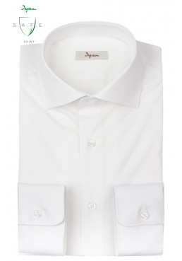 Ingram SAFE shirt, in antibacterial and antiviral cotton with Aloe